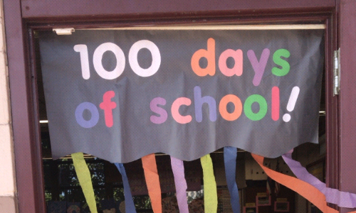 100th Days of School for Our Kindergarteners